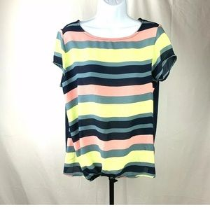 Ann Taylor Factory Top Size Medium Striped